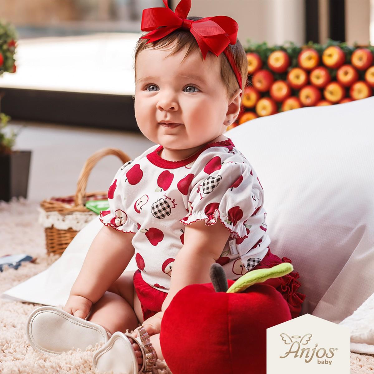 Conjunto Verão para Bebês 2 peças – Maças do Amor