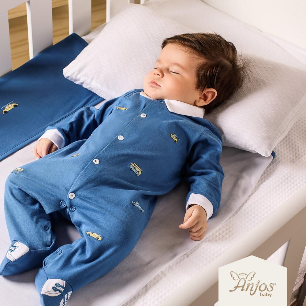 Macacão Longo Bebê Menino Carros