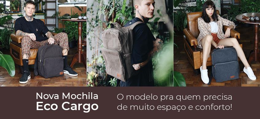 Nova Mochila Eco Cargo