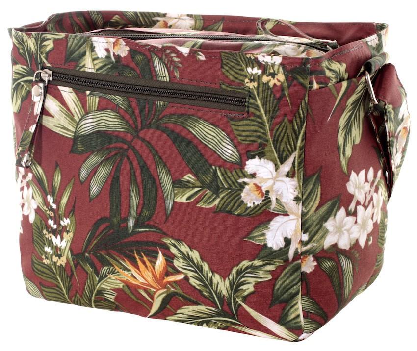 Bolsa Orquídea Terracota Impermeável