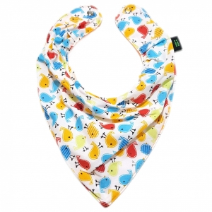 Babador Bandana Little Bird Colorido Gumii