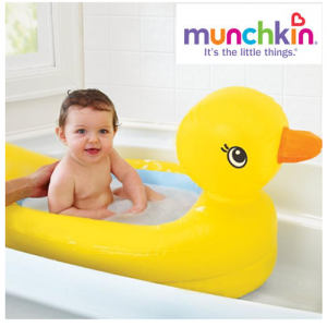 Banheira Pato Inflável Infantil Para Banho Munchkin
