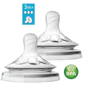 Bico Mamadeira Pétala nº 3 - 3m+ Avent