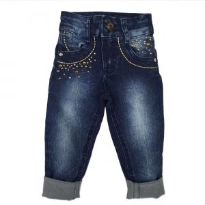 Calça Jeans com Aplicação
