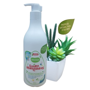 Detergente Limpa Mamadeiras e Bicos de Silicone Bioclub Baby