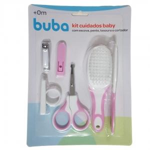 Kit Cuidados Baby Rosa Buba Baby