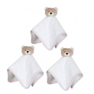 Kit Toalhinhas Nino Rosa Zip Toys
