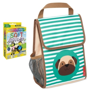 Lancheira Térmica Zoo Skip Hop Cachorro Pug Infantil