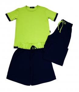 Pijama Toke Limão com Marinho Gumii