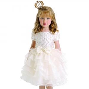 Vestido Festa com Bordado Petit Cherie