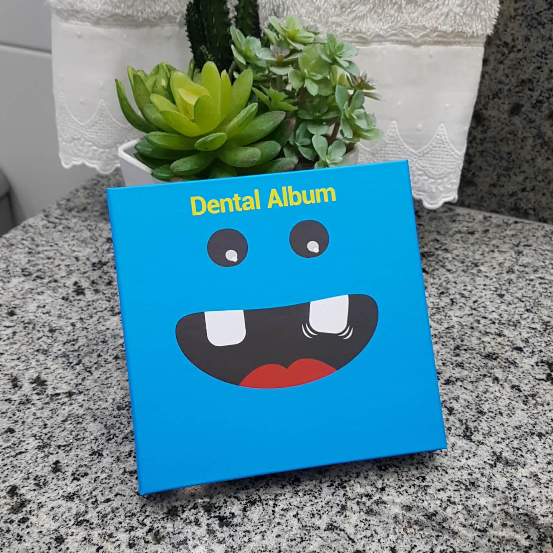 Álbum Porta Dentinhos Azul Angie by Angelus
