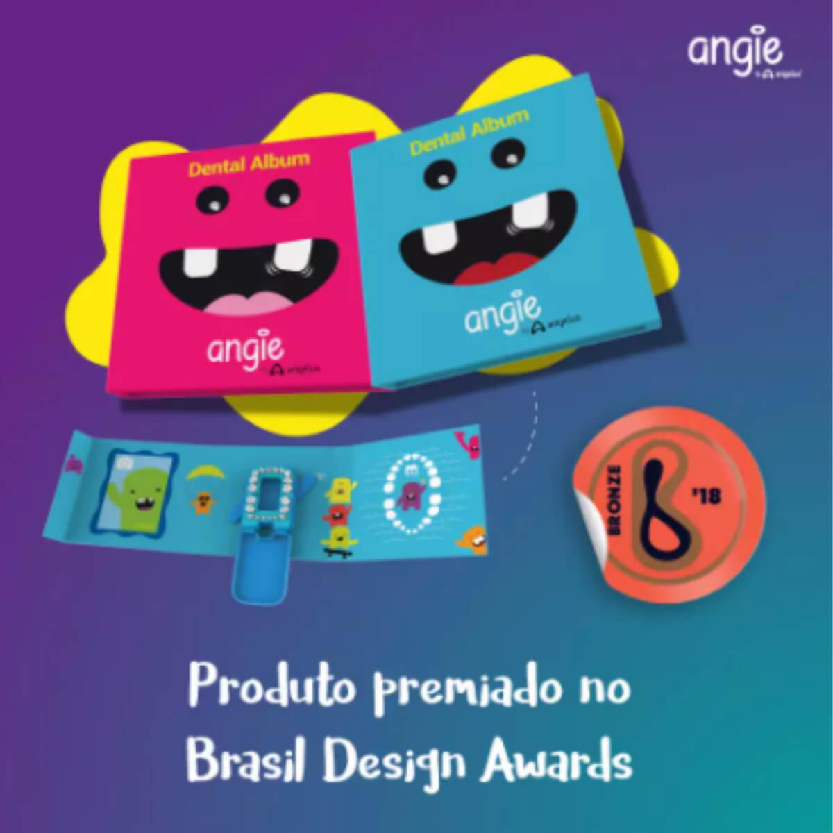 Álbum Porta Dentinhos Rosa Angie by Angelus
