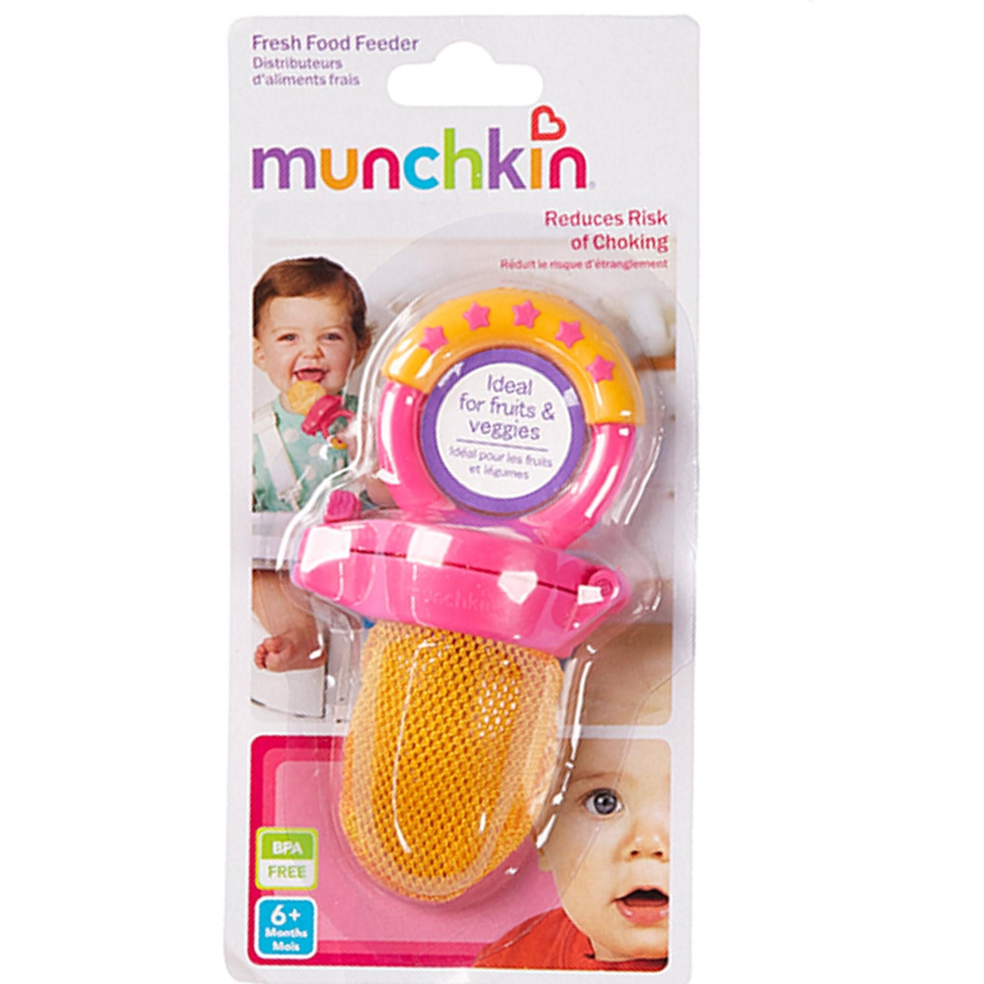 Alimentador com Tela Pink Munchkin