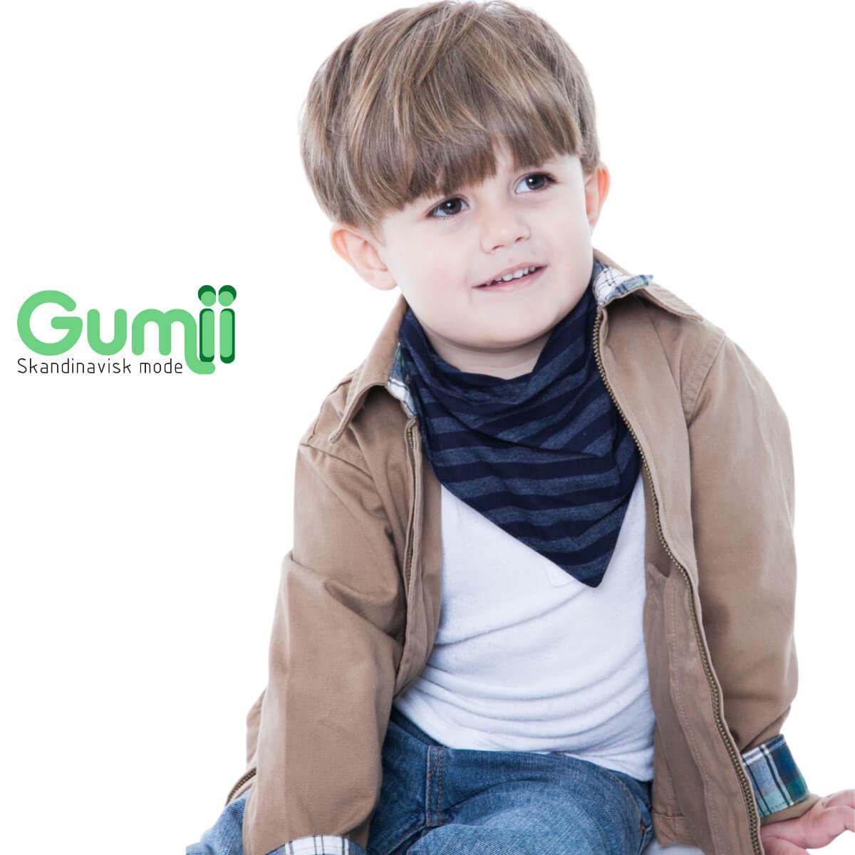 Babador Bandana Gumii Kit 6 Bebe Boy Oferta Leve 6 e Pague 5