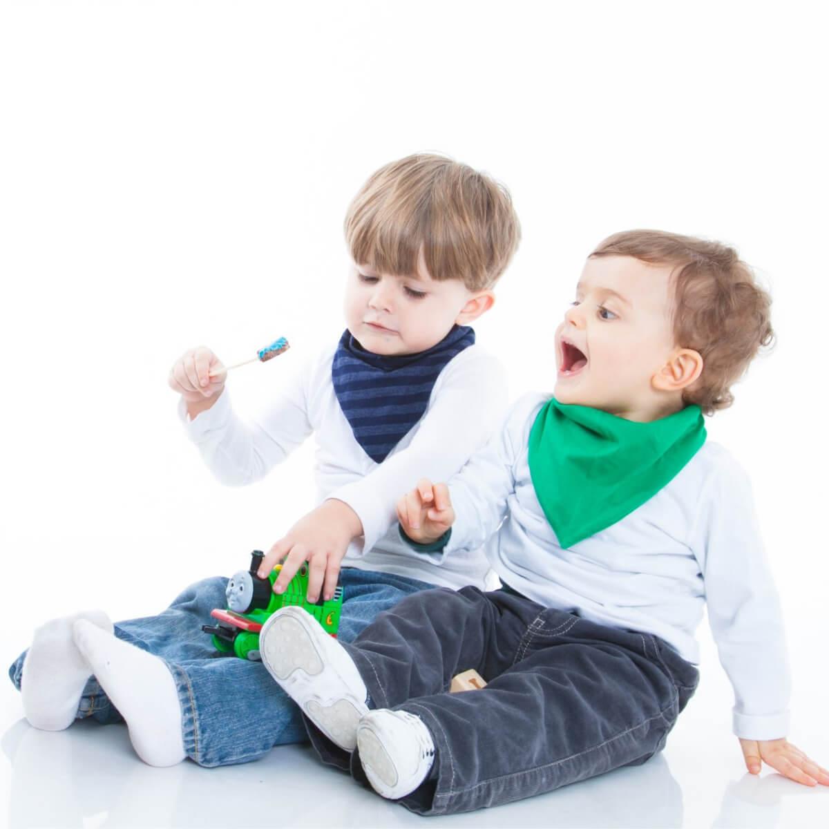 Babador Bandana Gumii Kit 6 Oferta Leve 6 e Pague 5 Bebe Boy