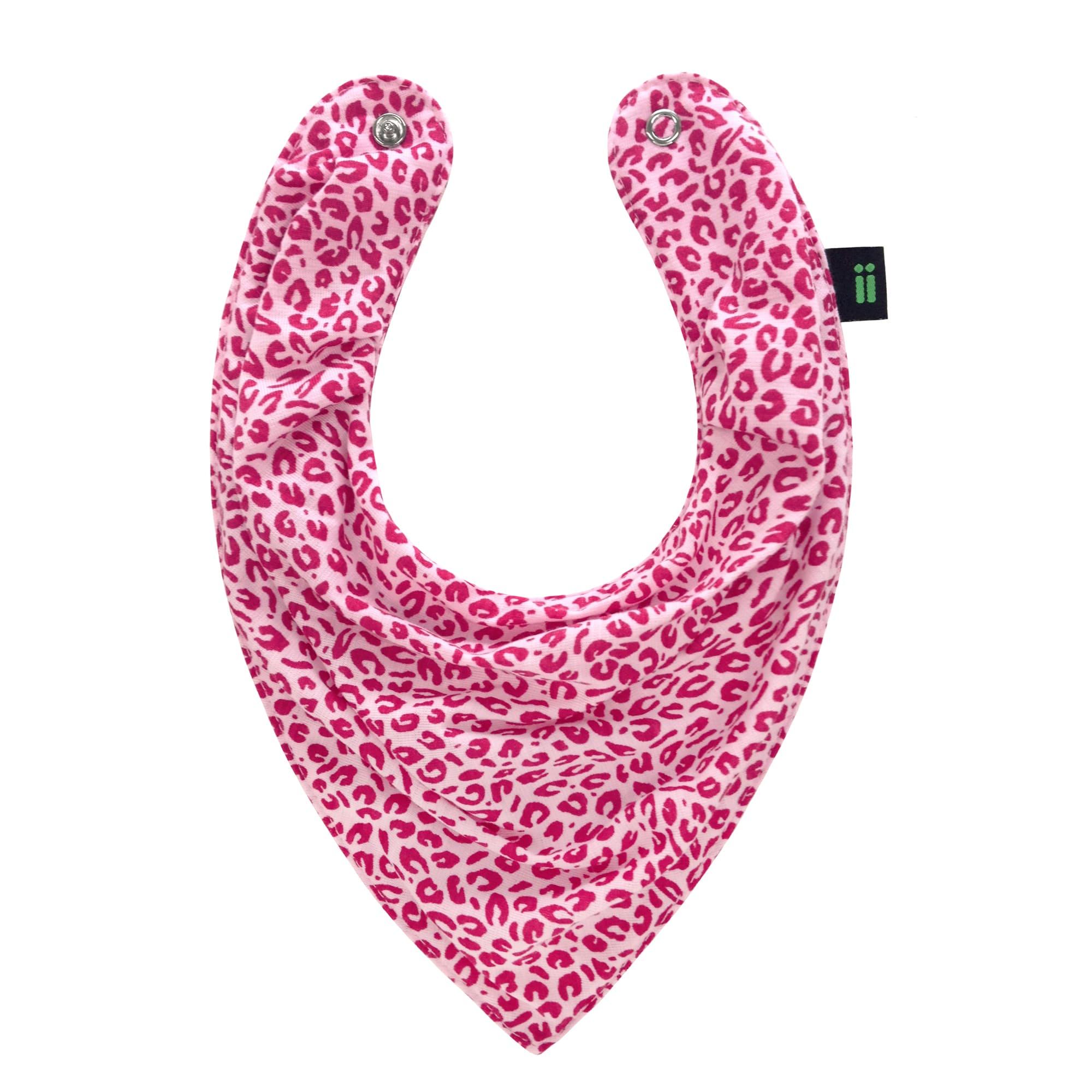 Babador Bandana Onça Pink Verano Gumii