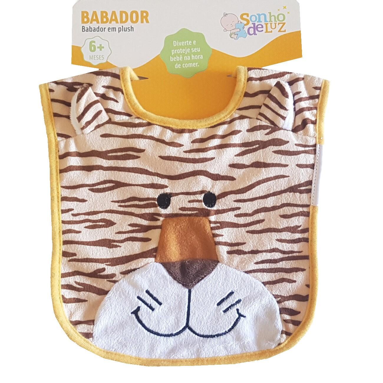 Babador de Bebê Tigre Sonho de Luz