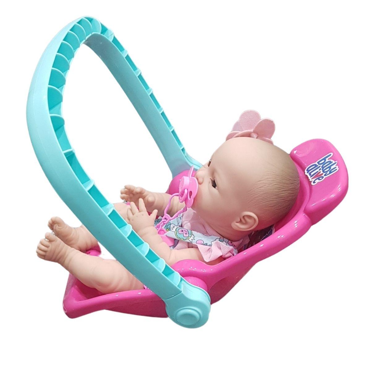 Bebê Conforto Baby Alive Para Bonecas Meninas Divertoys