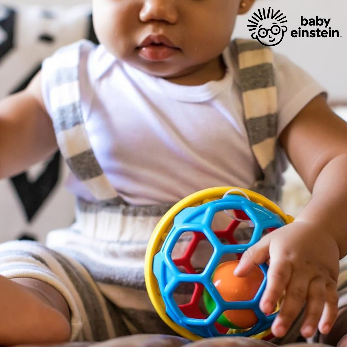 Bola Chocalho Bendy Ball Baby Einstein