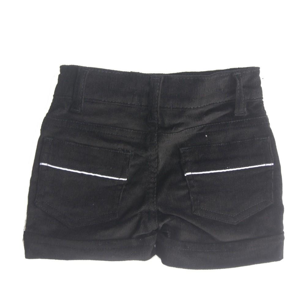 Conjunto Blusa com Shorts de Veludo Petit Cherie
