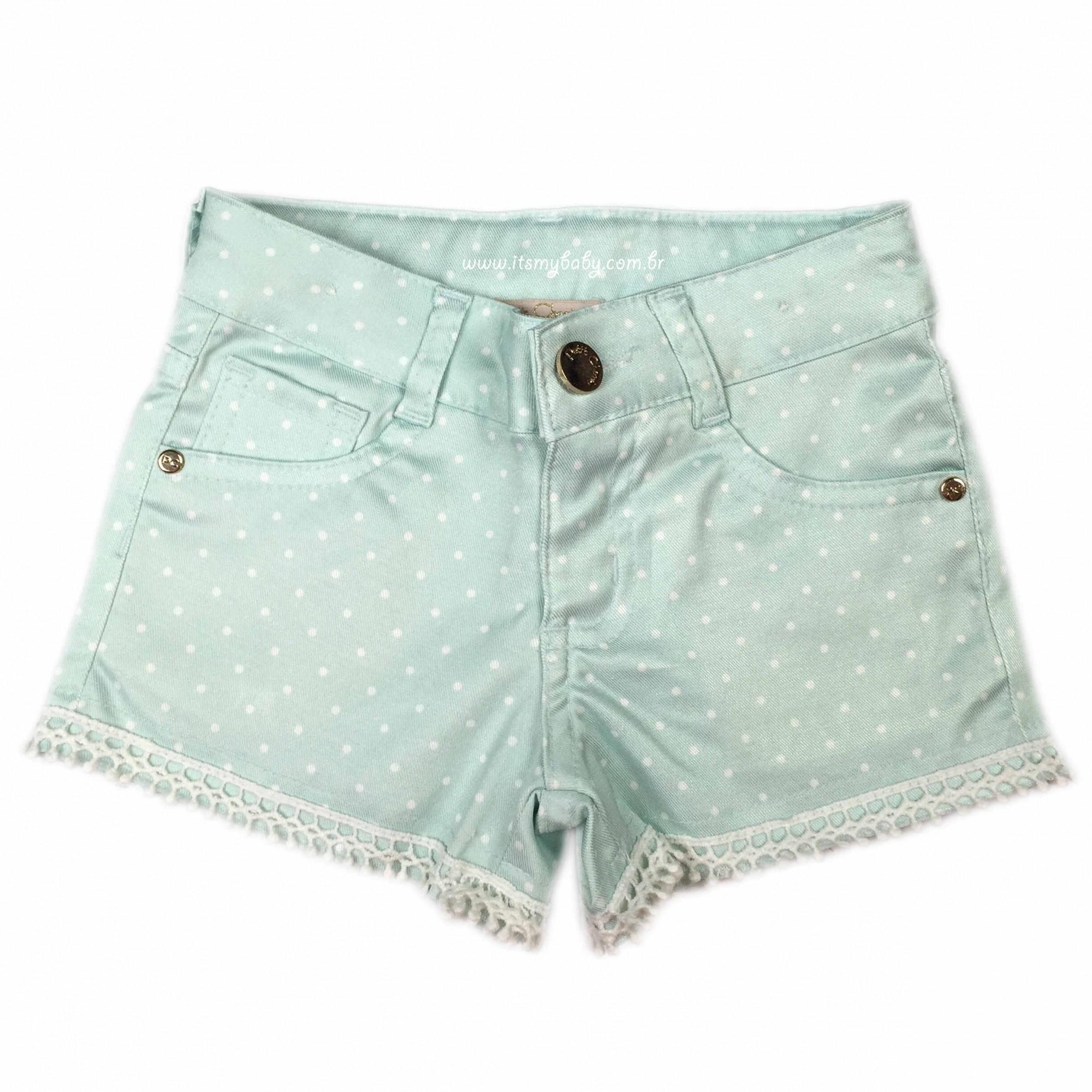 Conjunto Blusa Mc e Shorts