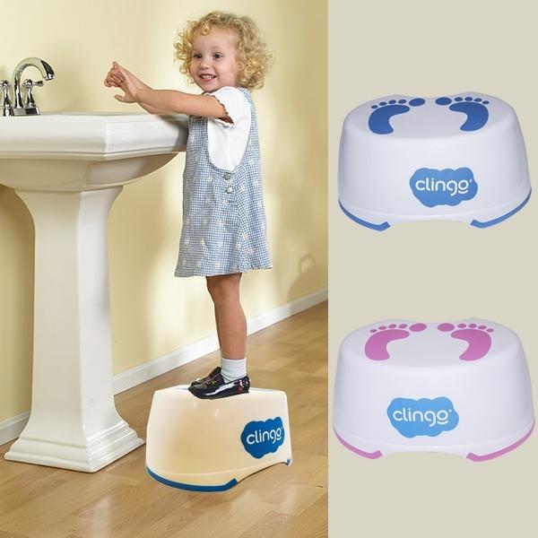 Degrau Infantil Step Pezinhos Azul