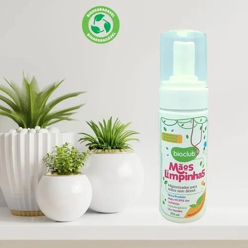 Higienizador Para Mãos Sem Álcool 150ml Orgânico Bioclub Baby (2un)