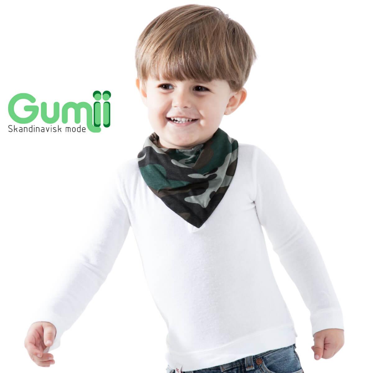 Kit 6 Babador Bandana Gumii Bebe Boy Oferta Leve 6 e Pague 5