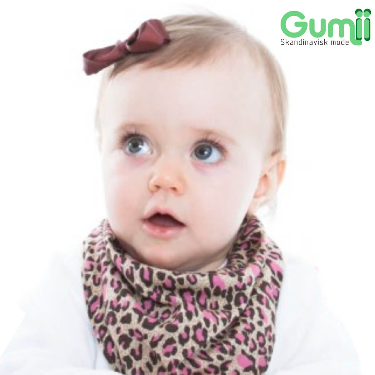 Kit 8 Babador Bandana Gumii Bebe Menina Infantil