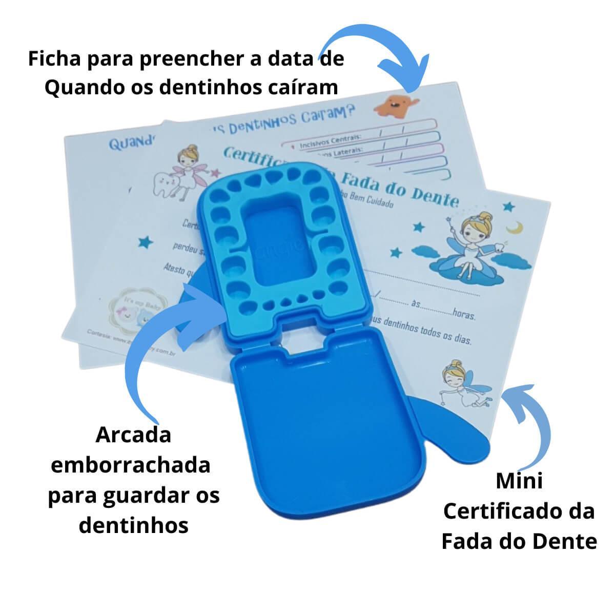 Kit Fada do Dente Azul Angie by Angelus
