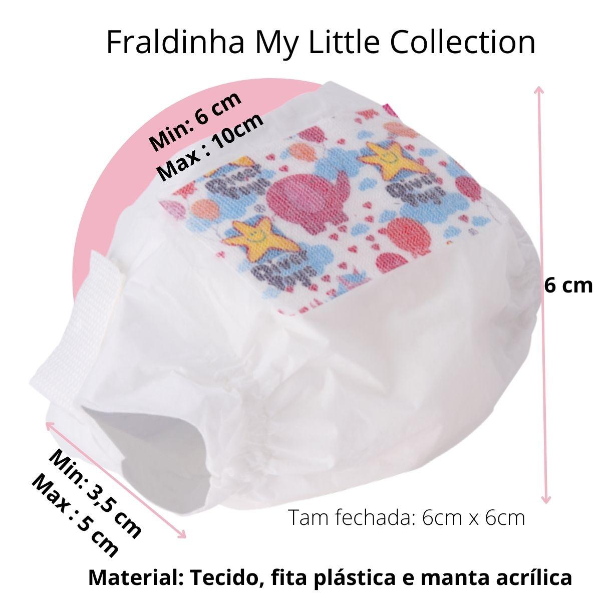 Kit Fraldinha My Little Collection Divertoys