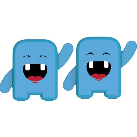 Kit Porta Dente de Leite Estojo Porta Dente de Leite Porta Dentinhos de Leite (2 Caixinhas)