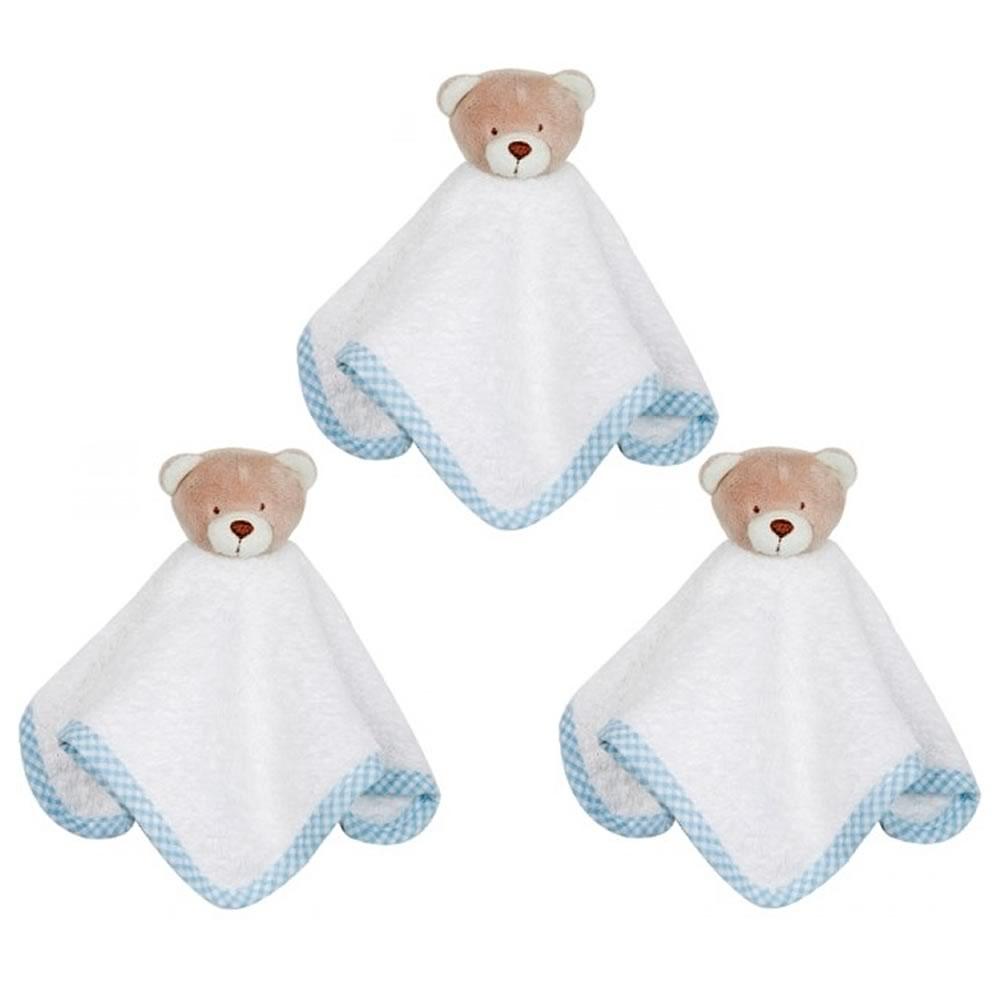 Kit Toalhinhas Nino Azul Zip Toys