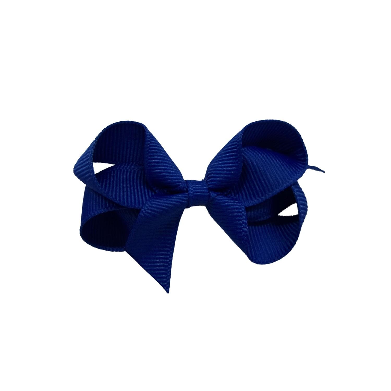 Laço Gumii Gorgurão Azul escuro 7cm