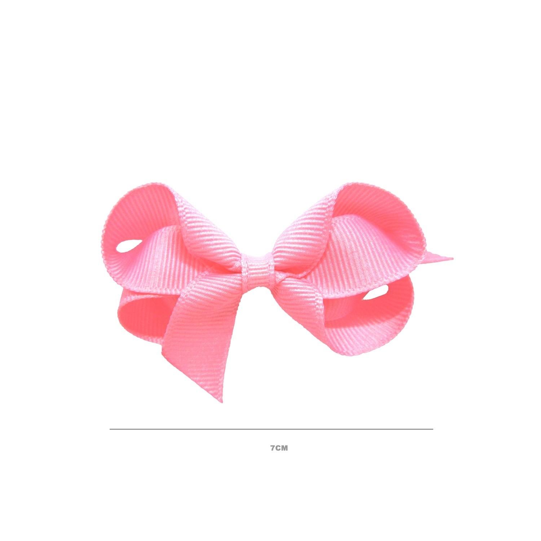 Laço Gumii Gorgurão Rosa 7cm