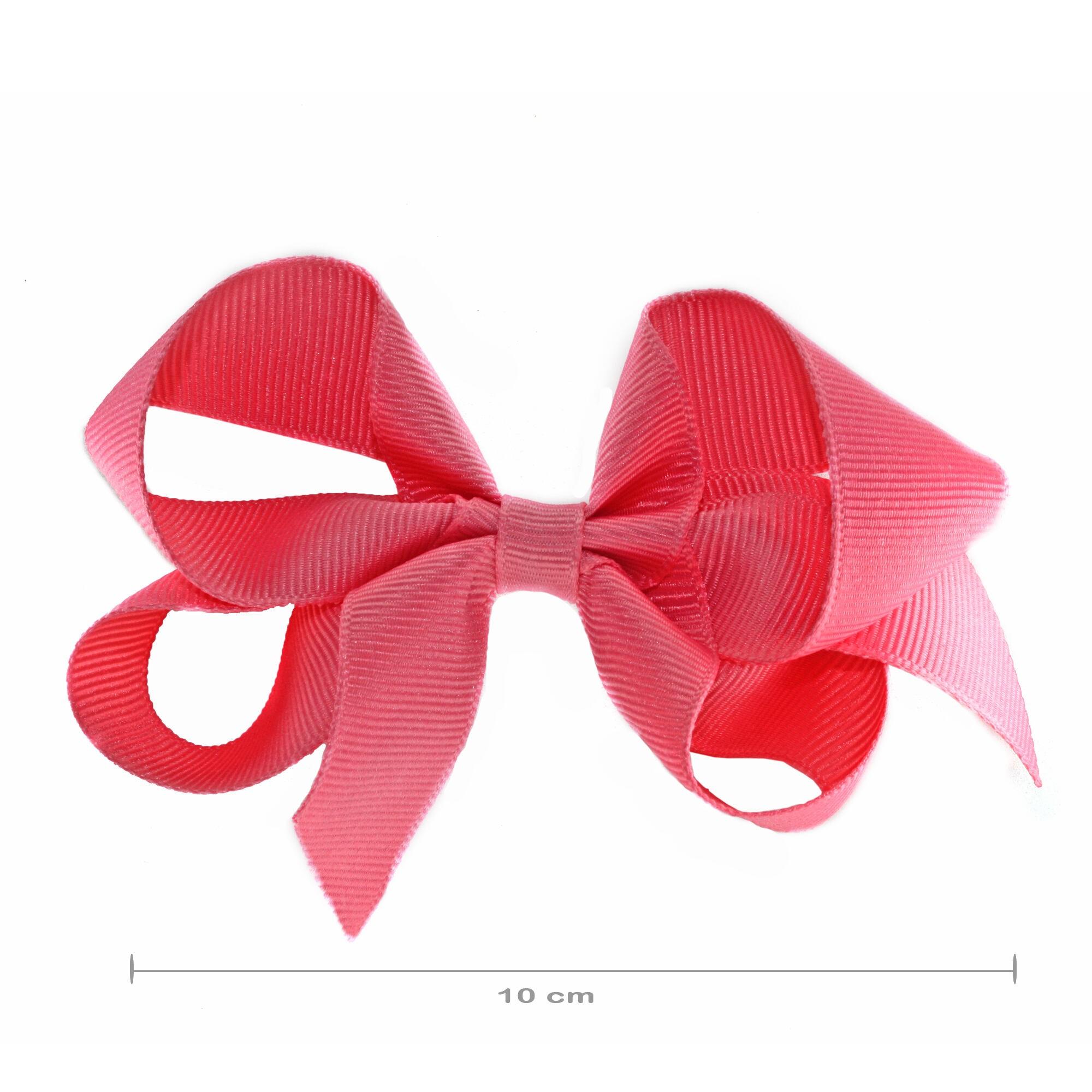 Laço Gumii Gorgurao Rosa Coral 10cm
