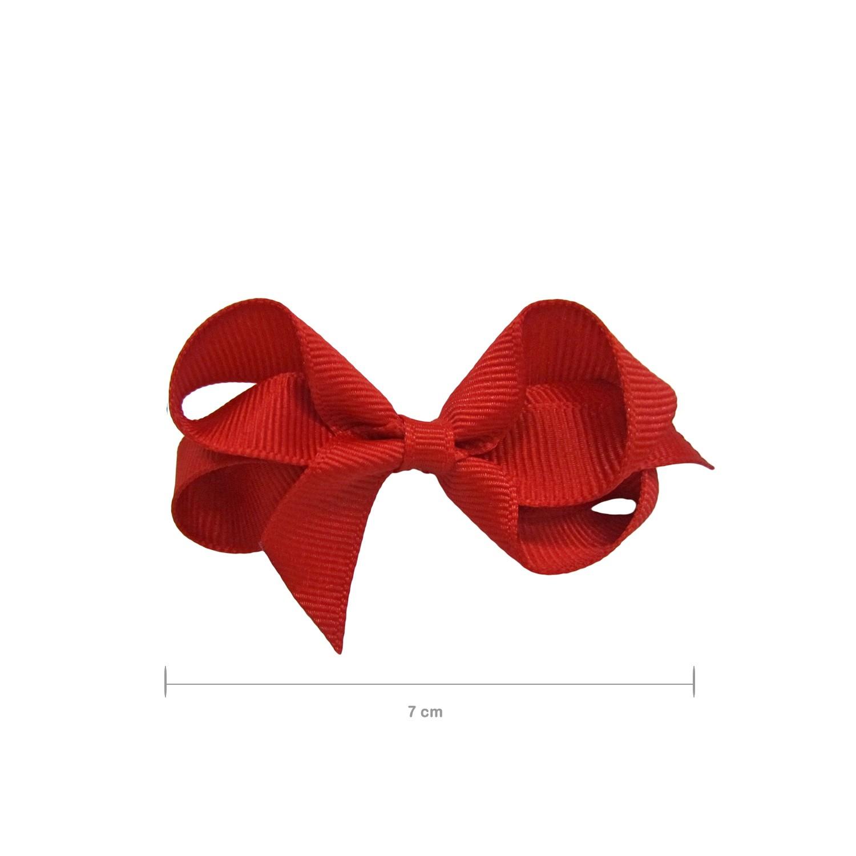 Laço Gumii Gorgurão Vermelho 7cm