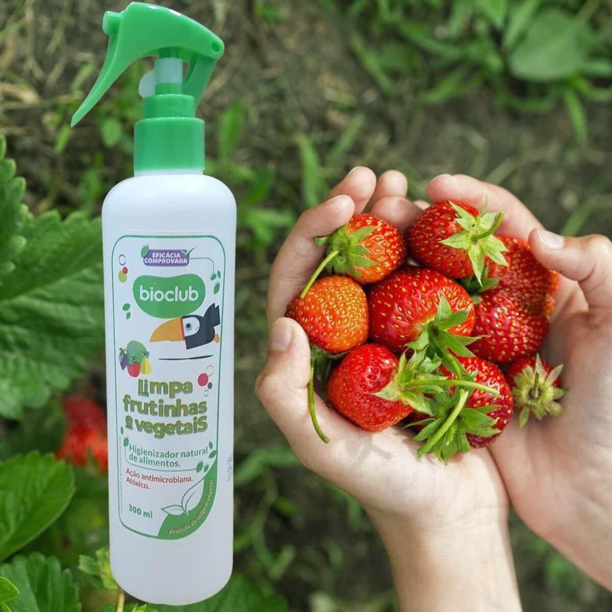 Limpa Frutinhas e Vegetais Orgânico Bioclub 300ml