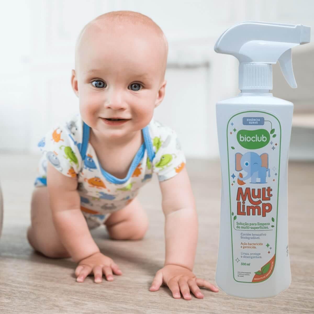 Limpeza de Superfícies Spray Mult Limp Bioclub