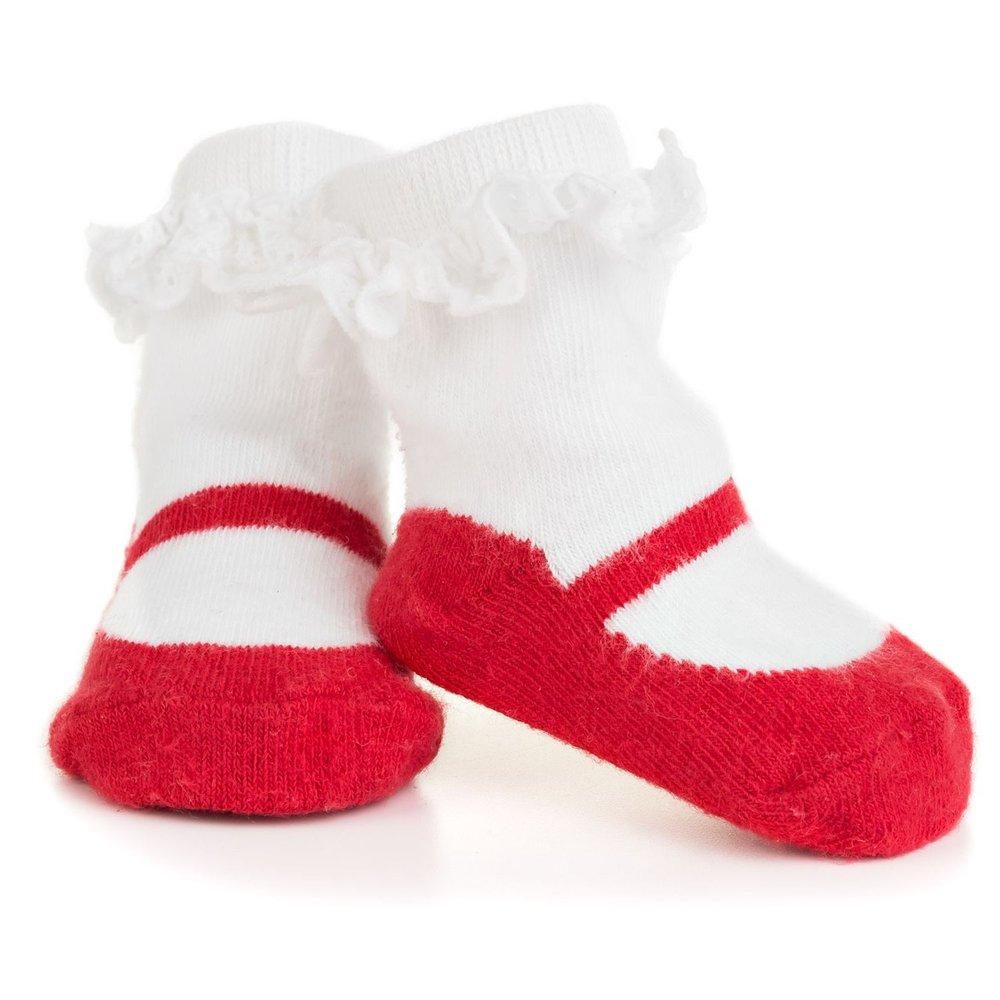 Meia Infantil Isabella Vermelha Letiti