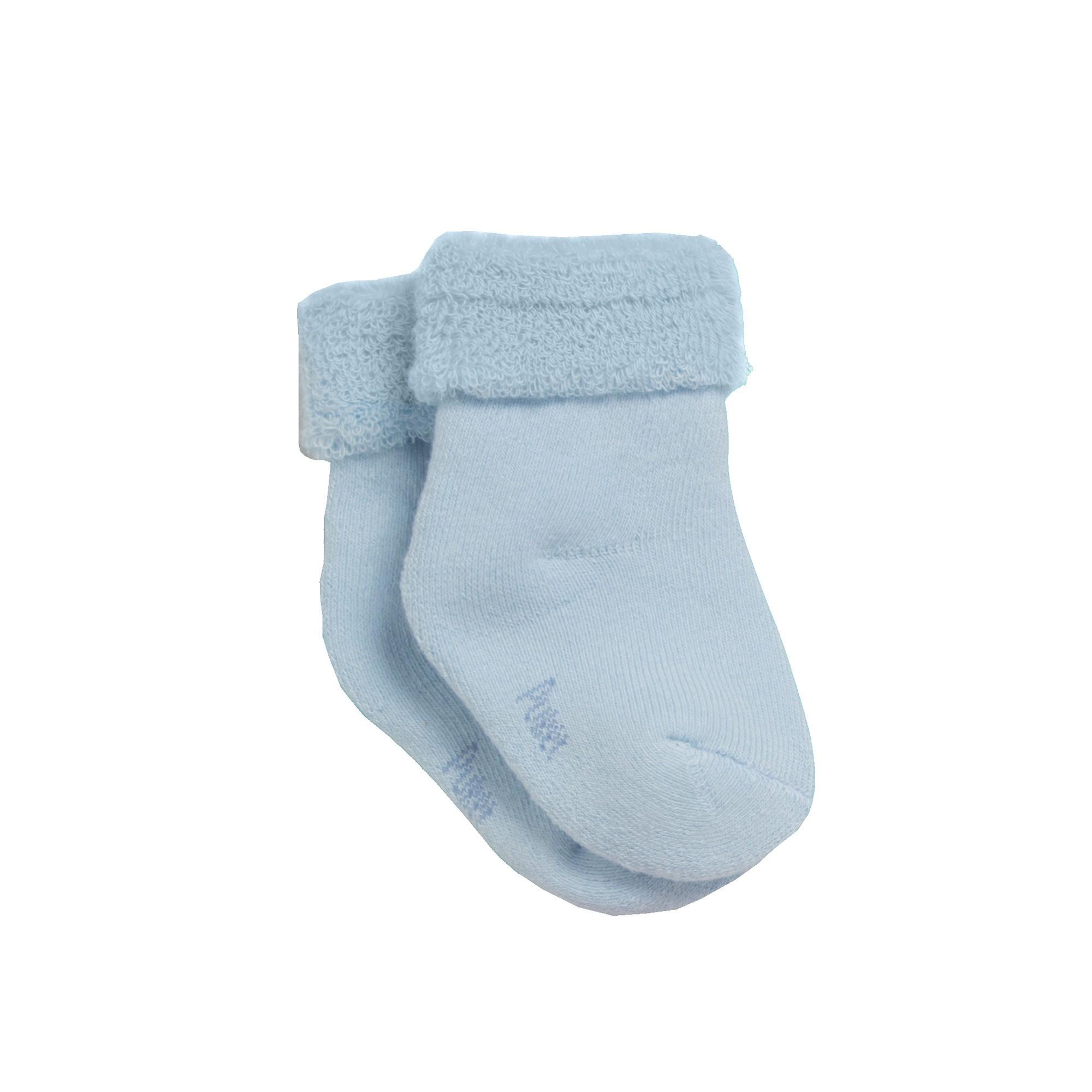 Meia Soquete Confort Azul Bebê