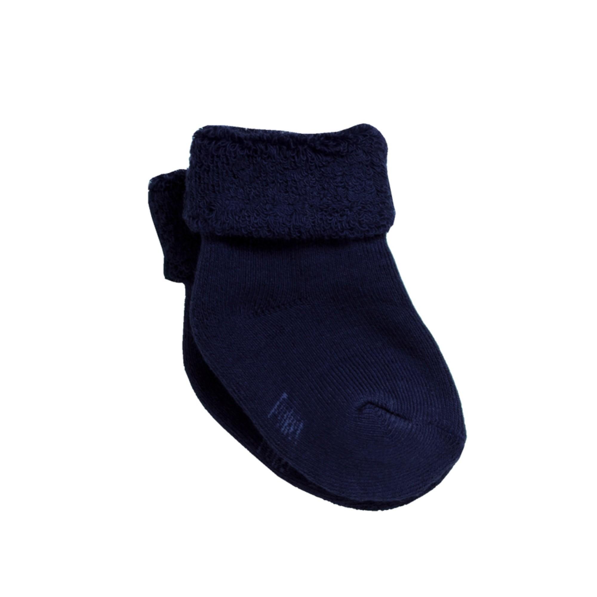Meia Soquete Confort Azul Marinho