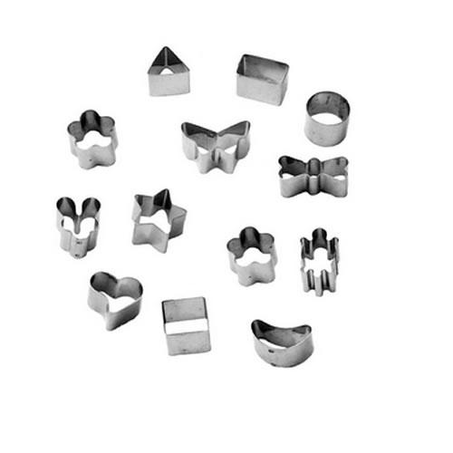 Mini Cortadores de inox 13 peças