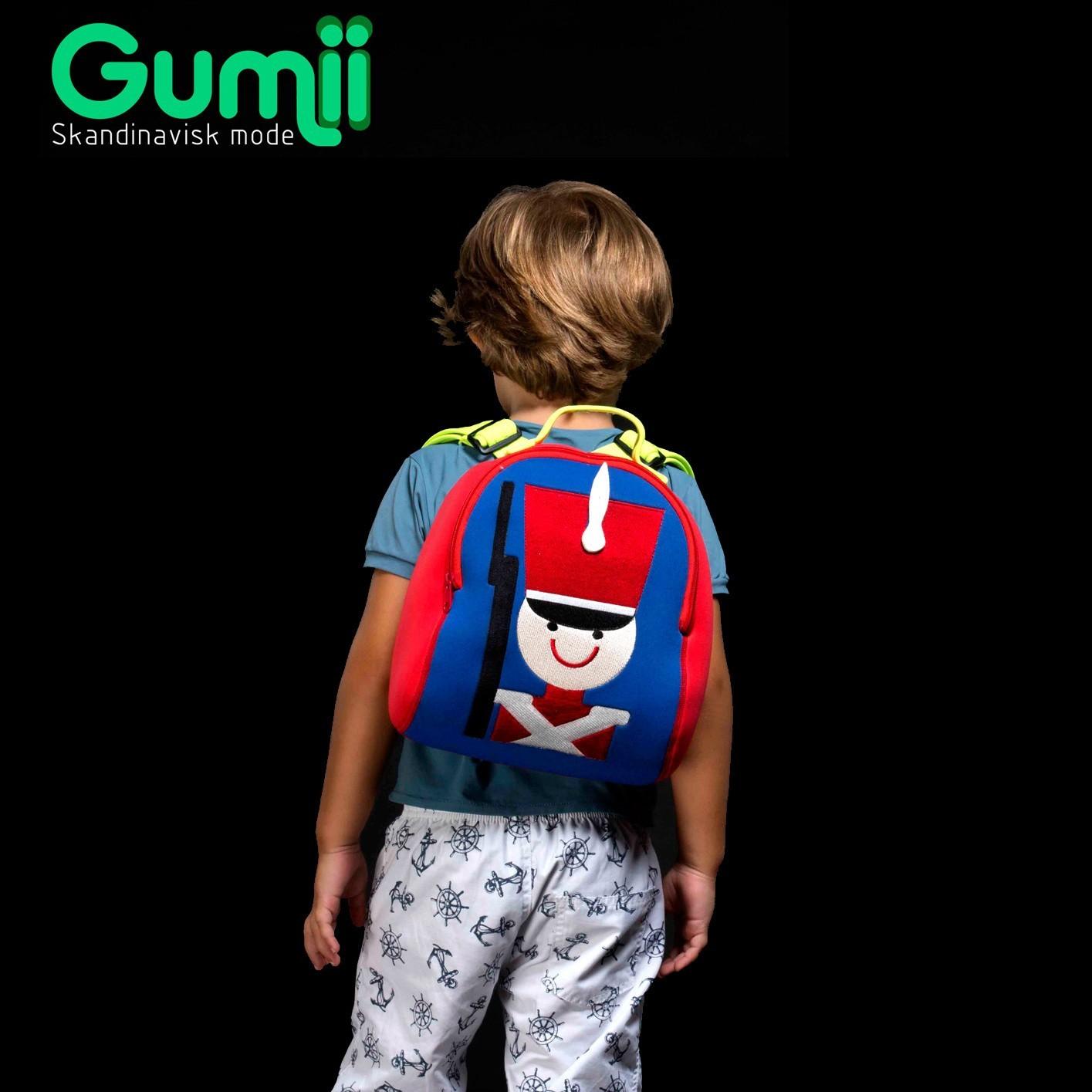 Mochila Térmica Infantil Menino de Neoprene Joker Gumii