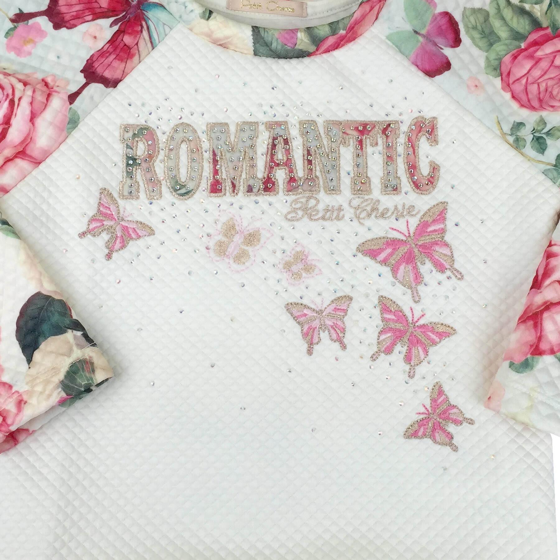 Moletonzinho Romantic Petit Cherie