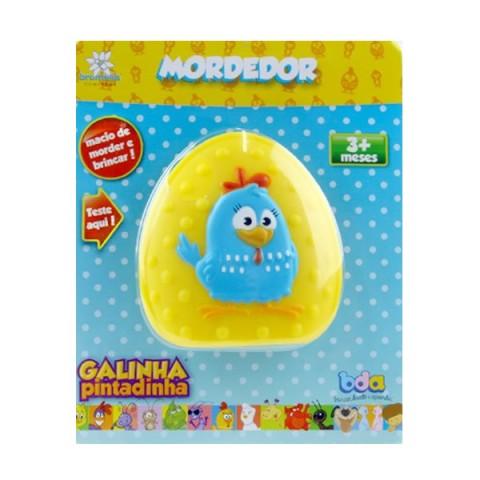 Mordedor Galinha Pintadinha Amarela BDA Toyster