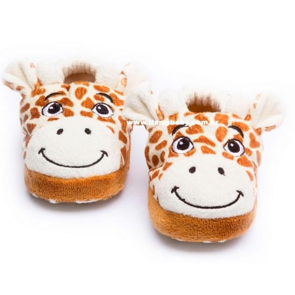 Pantufa Infantil Girafa Sonho de Luz