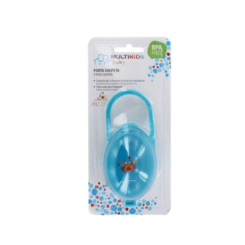 Porta Chupeta Azul Multikids Baby - Bb141 - Padrão