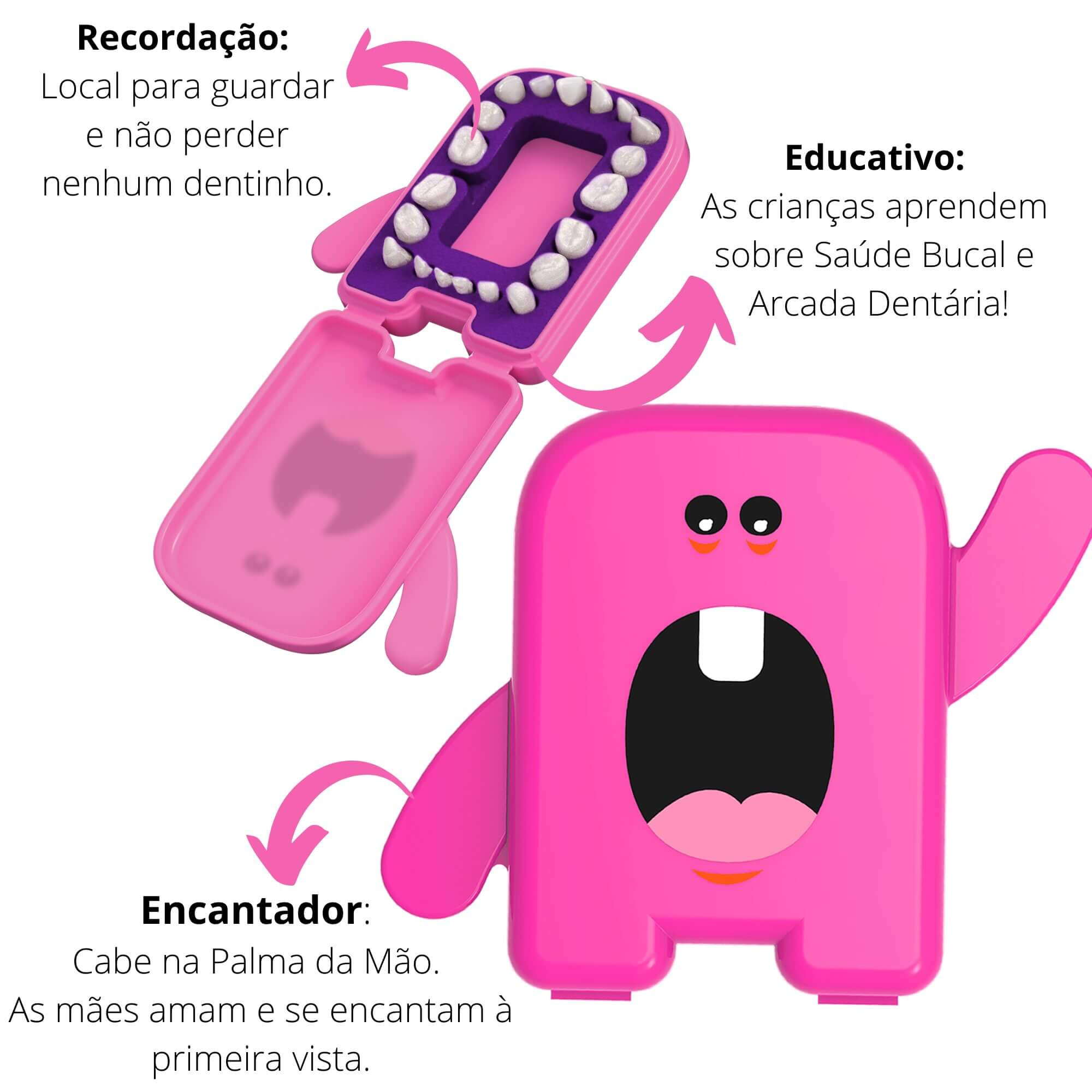 Kit Fada do Dente Rosa Angie by Angelus