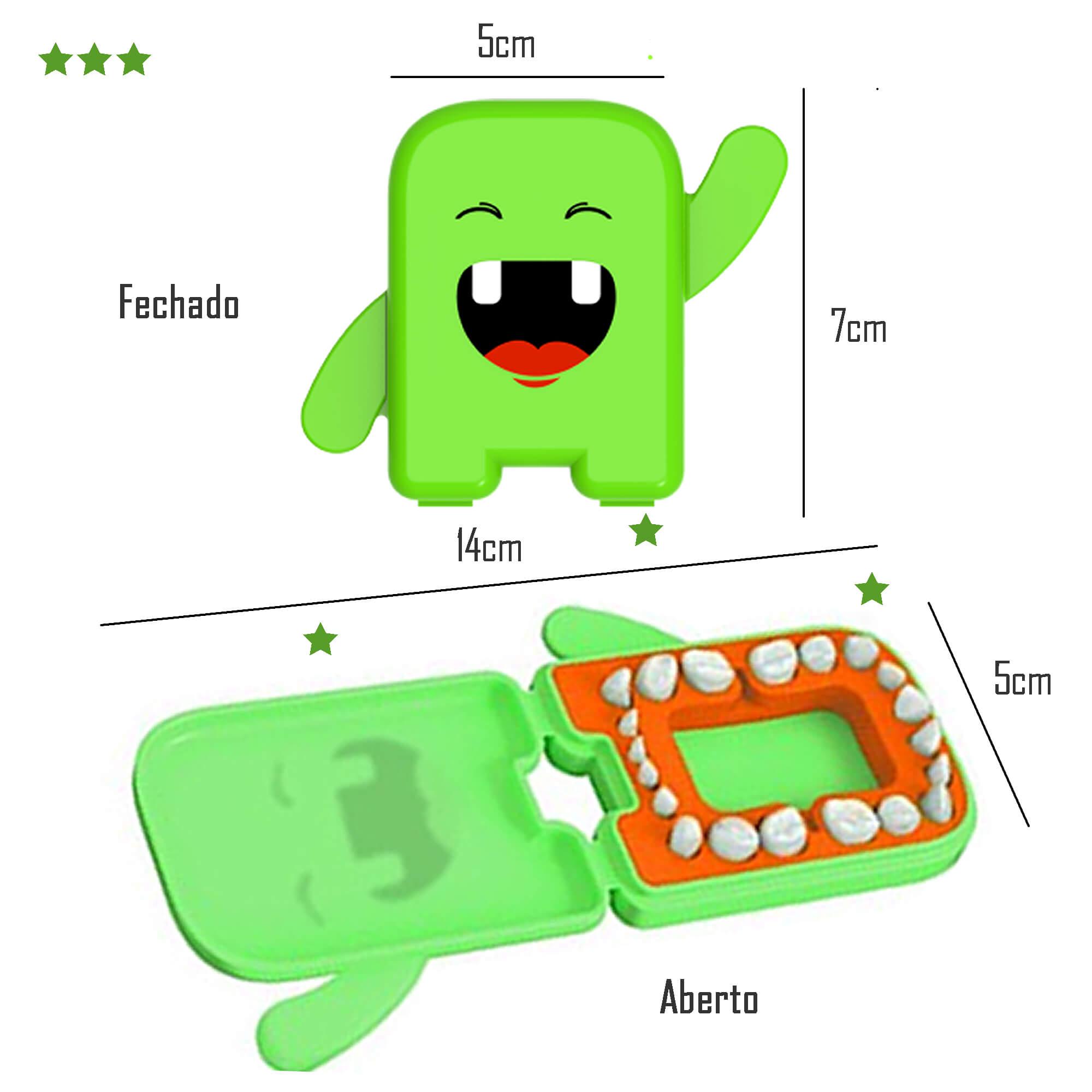 Porta Dentinhos de Leite Verde Angie by Angelus